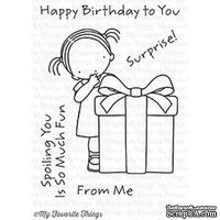 Акриловый штамп My Favorite Things - Pure Innocence Happy Birthday to You