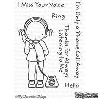 Акриловый штамп My Favorite Things - Pure Innocence A Phone Call Away