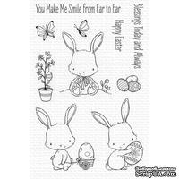 Акриловый штамп My Favorite Things - SY Easter Bunnies