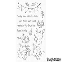 Акриловый штамп My Favorite Things - SY Sending Sweet Celebration Wishes