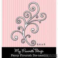 Левие My Favorite Things - Die-namics Fancy Flourish (MFT-0088) - ScrapUA.com