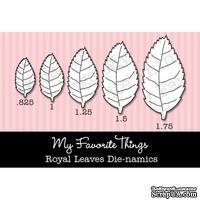 Набор лезвий My Favorite Things - Die-namics Royal Leaves (MFT161)