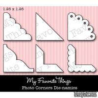 Набор лезвий My Favorite Things - Die-namics Photo Corners (MFT-0148)