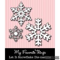 Набор лезвий My Favorite Things - Die-namics Let It Snowflake (MFT-0025)
