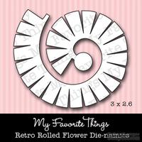 Левие My Favorite Things - Die-namics Retro Rolled Flower