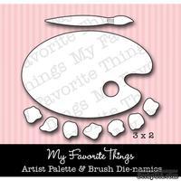 Набор лезвий My Favorite Things - Die-namics Artist Palette & Brush