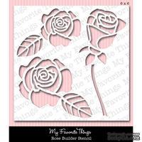 Маска My Favorite Things - Stencils MPD Rose Builder, 15х15 см (MFT-ST-8)