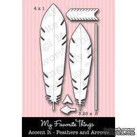 Левие My Favorite Things - Die-namics Accent It - Feathers and Arrows (MFT312) - Перья и стрелы