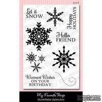 Акриловые штампы My Favorite Things - LJD Snowflake Splendor