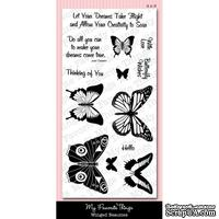 Акриловые штампы My Favorite Things - MPD Winged Beauties