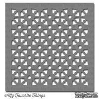 Маска My Favorite Things - Stencil MPD Tiled Hearts, 15х15 см