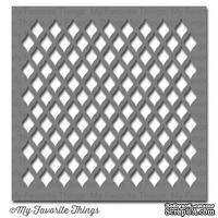 Маска My Favorite Things - Stencil MPD Fishnet, 15х15 см