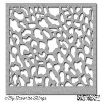 Маска My Favorite Things - Stencil Wildcat, 15х15 см