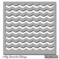 Маска My Favorite Things - Stencil Waves, 15х15 см