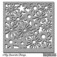 Маска My Favorite Things - Stencil Funky Florals, 15х15 см
