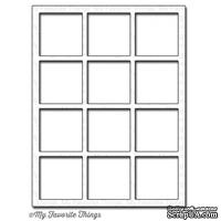 Лезвие My Favorite Things - Die-namics Square Grid Cover-Up