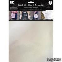 """Набор термотрансферных пленок от Best Creation - Metallic Heat Transfer 8.5""""X11"""", Silver, 2 листа"""