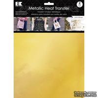 """Набор термотрансферных пленок от Best Creation - Metallic Heat Transfer 8.5""""X11"""", Gold, 2 листа"""