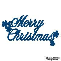 Нож для вырубки от Tattered Lace - Mini die Merry Christmas - Рождество