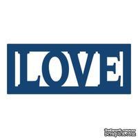 Нож для вырубки от Tattered Lace - Mini die Love - Любовь