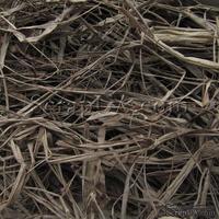 Рафия натуральная, цвет коричнево-серый, упаковка 30 г