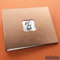 Альбом для скрапбукинга Making Memories - Leather Embossed Bronze - 30х30 см