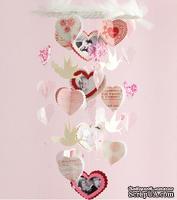 СКИДКА 40%! Набор для создания украшения-подвески Making Memories Chandelier Decor Kit Je t'Adore