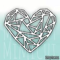 Нож для вырубки от MiMiCut - Геометрия любви, 69x59мм