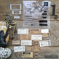 "Набор штампов и ножей для вырубки от  MiMiCut -  ""Билет на балет"", 50х25, 34х17 мм"