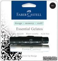 Набор пигментных мелков от Faber Castell - Gelatos (Джелатос) - BLACK/WHTE GELATOS, 2 шт.