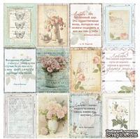 Лист односторонней бумаги от Mona Design - Карточки - Так подсказывает сердце, 30,5х30,5см