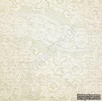 Лист односторонней бумаги от Mona Design - Кружева, 30,5х30,5см