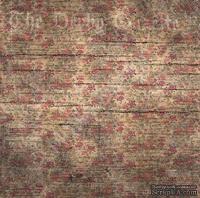 Лист односторонней бумаги от Mona Design - Полевые цветы, 30,5х30,5см