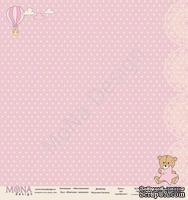 """Лист односторонней бумаги от Mona Design - """"Фантазия"""" - Малышка, 30х30см"""