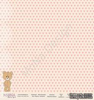 """Лист односторонней бумаги от Mona Design - """"Я расту"""" new, коллекция """"Моя Малышка"""", 30,5х30,5 см, плотность 190 гр\м2"""