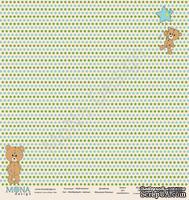 """Лист односторонней бумаги от Mona Design - """"Воображуля"""" - Малыш, 30х30см"""
