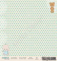 """Лист односторонней бумаги от Mona Design - """"Я расту"""" - Малыш, 30х30см"""