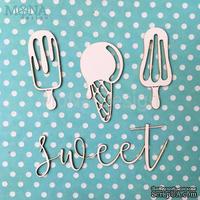 """Набор чипборда от Mona Design """"Sweet"""", 4 шт."""