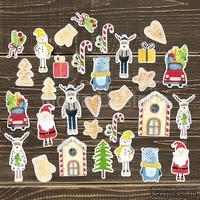 Набор высечек от Mona Design - Сказочная зима