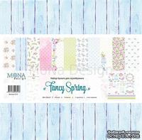 """Набор бумаги от Mona Design - """"Fancy Spring"""" 12 листов"""