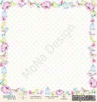 """Лист односторонней бумаги от Mona Design - """"Fancy Spring"""", 30,5х30,5см"""