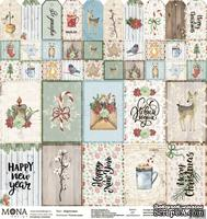 Лист Карточки от Mona Design — Теплая зима - ScrapUA.com