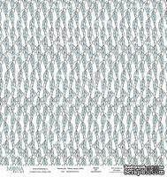 Лист односторонней бумаги от Mona Design - Безмятежность, 30х30см