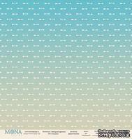 """Лист односторонней бумаги от Mona Design """"Стрелы"""", 30,5х30,5см"""