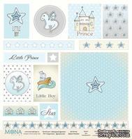Лист карточек от Mona Design - Звездный дракон, 30,5х30,5см