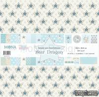 """Набор скрапбумаги от Mona Design """"Звездный дракон"""", 30,5х30,5 см, 10 шт."""