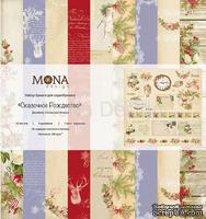"""Набор скрапбумаги от Mona Design -  """"Сказочное Рождество"""", 30,5х30,5 см"""