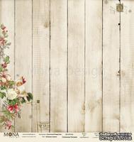 Лист односторонней скрапбумаги от Mona Design - Нежная сказка, 30,5х30,5 см