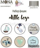 Набор фишек от Mona Design — Little boy, 6 шт
