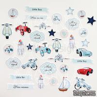 Набор высечек от Mona Design — Little boy, 36 элементов - ScrapUA.com